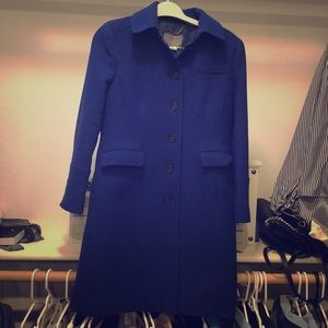 Double cloth pea coat